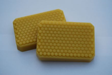 Beeswax Ingots (Large Honeycomb effect)